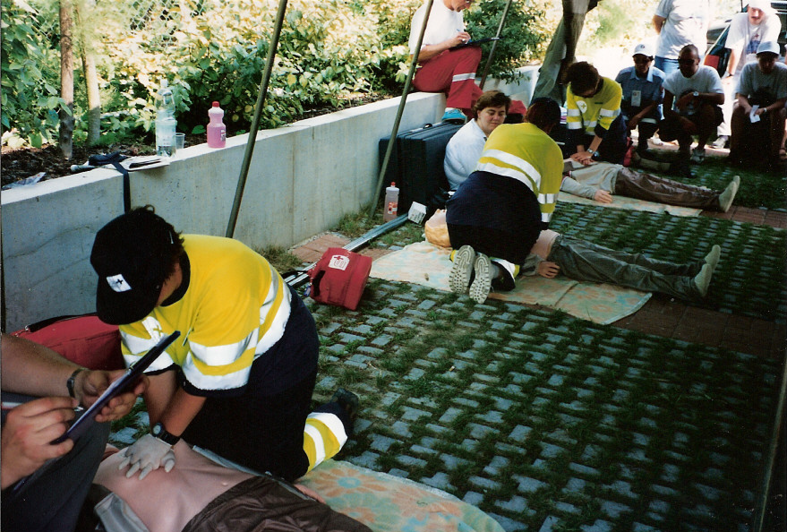 European First Aid Competition 1998